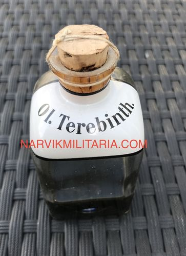 Bottle ol.Terebinth