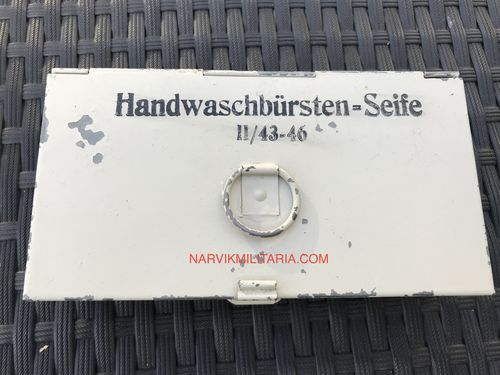 Metal box Handwaschbursten seife SOLD!